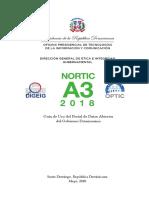 Guía de Uso del Portal de Datos Abiertos, República Dominicana