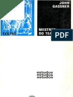 GASSNER, John - Mestres Do Teatro I