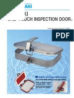 Tsubaki One Touch Inspection Door