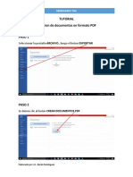 Tut Crear Doc PDF Xenia