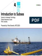 USB - Peter Brownlie - Introduction to Subsea May 2014