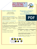 Bases Spelling Bee Externo 2017