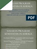 Evaluasi Program Kesehatan Olahraga