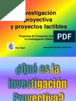 Investigac Proyectiva Curso 2012