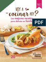 ¿Que voy a cocinar hoy? Las mejores recetas para disfrutar en familia Vol. 1 Parte 3
