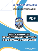 Reglamento Del Repositorio Digital