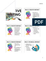 1. Introduction to Creative Writing
