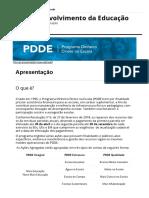 Apresentação - Portal Do FNDE - PDDE