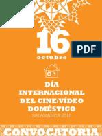 Dia Internacional del Cine/Video Doméstico_Convocatoria 2010_Salamanca
