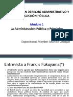 19 Mayo PPT_La Administración Pública y Principios_Modulo 1 Diplomado Der Administrativo y Gestión Pública_mayo2018 (1)