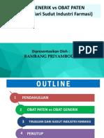 Disgram - Obat Paten vs Obat Generik