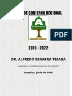 Plan de Gobierno Arequipa Renace - 2018