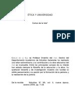 ETICA Y UNIVERSIDAD
