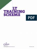 Adult Training Scheme January 2016 Final Version