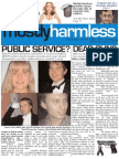 Mostly Harmless Issue 4
