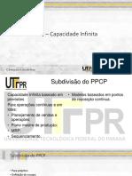 PCP – Capacidade Infinita