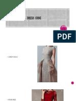Contoh Dress Code Colour