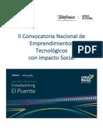 25.04.2018 Bases Convocatoria - El Puente