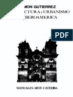 Ramon Gutiérrez Arquitectura y Urbanismo en Iberoamerica