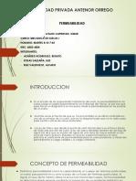 SUELOS 1-PERMEABILIDAD