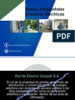 Monitoreo Ambientales en Las Empresas Electricas
