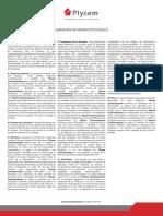 Plycem - Plydeck Garantía