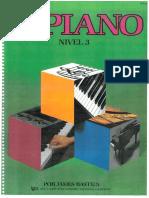 Piano Basico de Bastien - Nivel 3