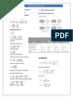 Fórmulas de Diseño Mecánico Resortes