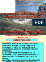 c 10 Consideraciones Geotecnicas Para Cimentar Presas