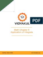 NCERT Solutions Class 12 Maths Chapter 8 Application of Integrals