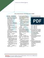 SBI Clerk 2009 Previous Paper