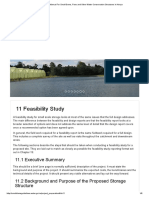 Practice Manual for Small Dams - Feasibilty