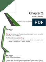 2 - Thermochemistry
