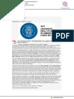Al via la Summer School Metodologia della ricerca applicata alle Scienze Motorie e Sportive - Il Mascalzone.it, 5 luglio 2018