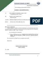 Informe 001 Mes de Abril 2018