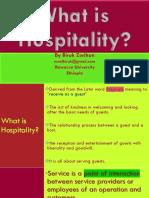 Customer Behavior in Hospitality