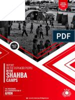 Report on the Displaced People in the Shahba Camps (Single Page View)
