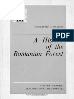 Constantin C. Giurescu a History of the Romanian Forest