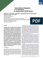Mutation in Transcriptional Regulator