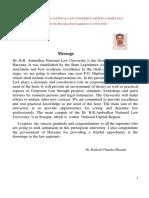 Prospectus With Application Form- Dbranlu 2018 -19