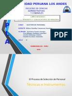 El Proceso de Seleccion de Personal AF