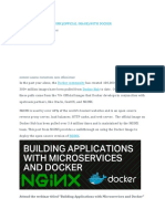 Tips for Deploying Nginx (Official Image) With Docker