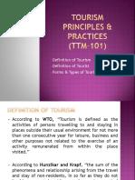 Concept of Tourism