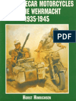 Heavy Sidecar Motorcycles of the Wehrmacht 1935-1945