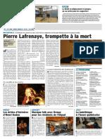 Pierre Lafrenaye, trompette à la mort