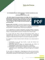 Por secuestro y extorsión, primera comparecencia de miembros de Farc ante la JEP