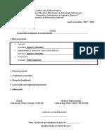 Formular Tema Diplomă LAI