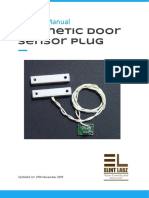 Elint Labz - Magnetic Door Sensor Plug Manual