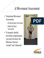 Powerpoint - Normal vs Abnormal Kinetic Chain Assessment