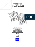 MULTILANGUAGE Operating Manual Primo Star ILED